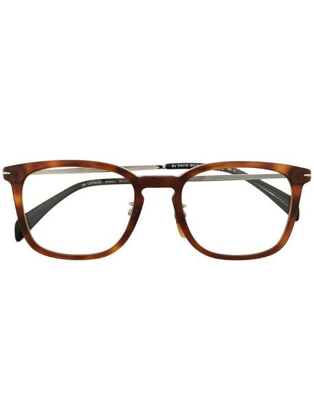 Eyewear by David Beckham tortoiseshell square frame sunglasses in brown
