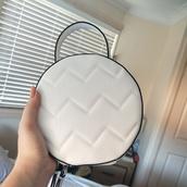 bag,tony bianco,white