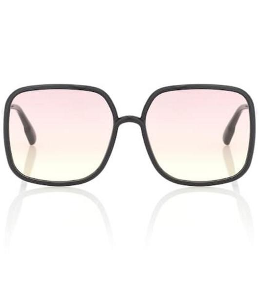 Dior Sunglasses DiorStellaire1 square sunglasses in black