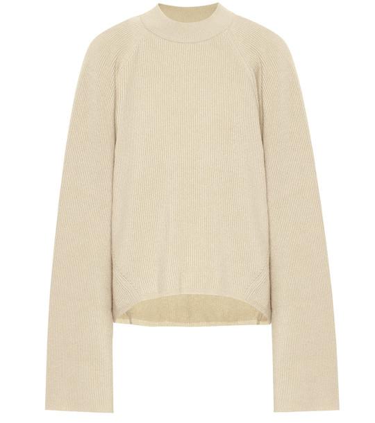 Petar Petrov Kleio cashmere sweater in beige