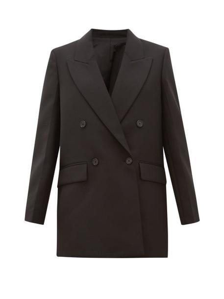 Joseph - Morgan Double Breasted Twill Jacket - Womens - Black