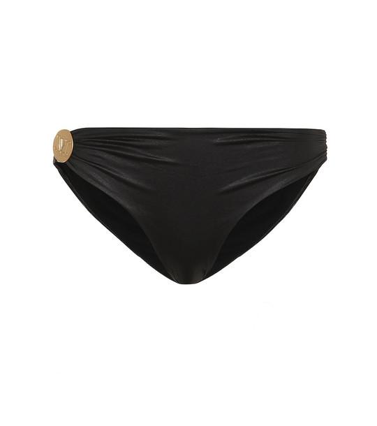 Max Mara Leisure Echi bikini bottoms in black