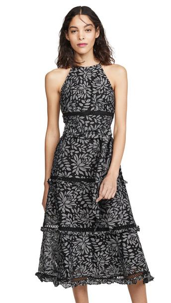 Keepsake Imagine Midi Dress in black