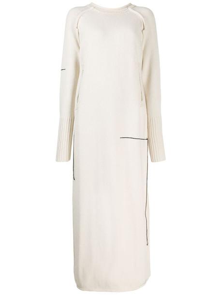 Yohji Yamamoto Pre-Owned 1990's jumper-style dress in neutrals