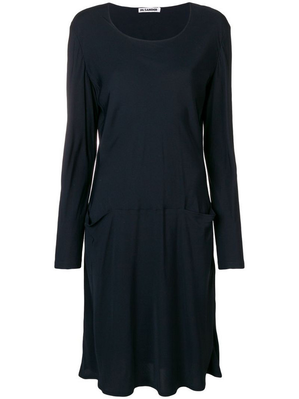 Jil Sander Pre-Owned 1990'S sweater dress in blue