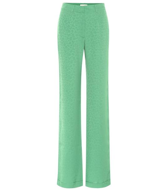Matériel Tbilisi High-rise wide-leg pants in green