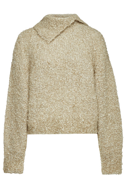 See by Chloé Pullover with Mohair and Alpaca  in beige