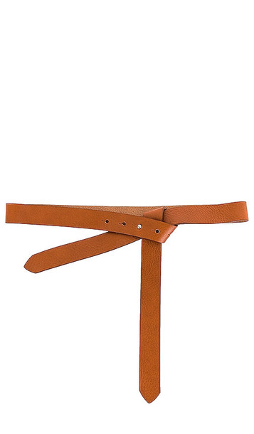 B-Low the Belt Ribbon Wrap Belt in Tan