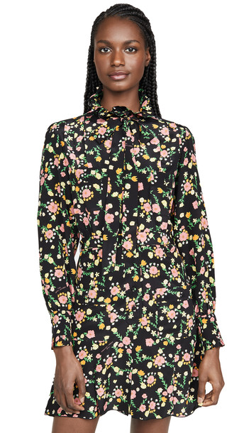 The Marc Jacobs The Shirt Dress in black / multi