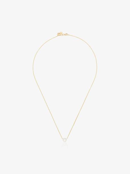 Jade Trau 18K yellow gold Penelope diamond pendant necklace