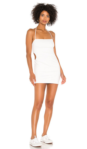 superdown Kadence Mini Dress in White in ivory