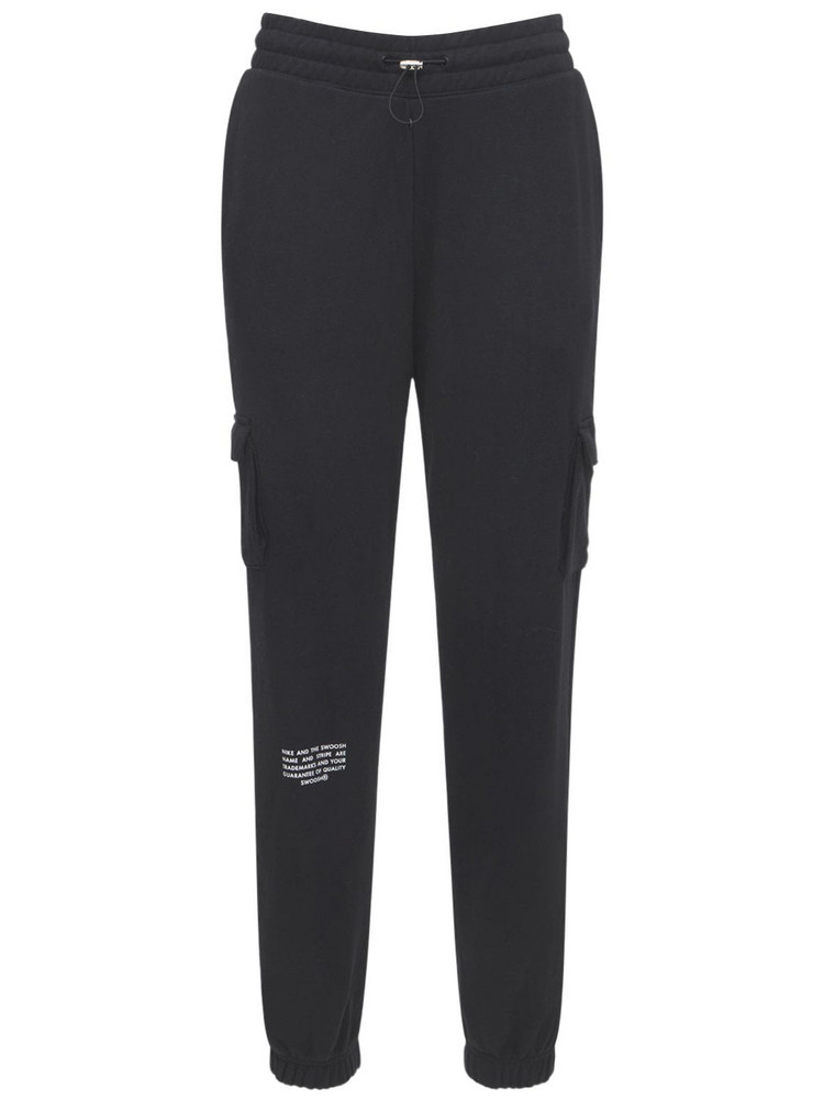 NIKE French Terry Pants in black