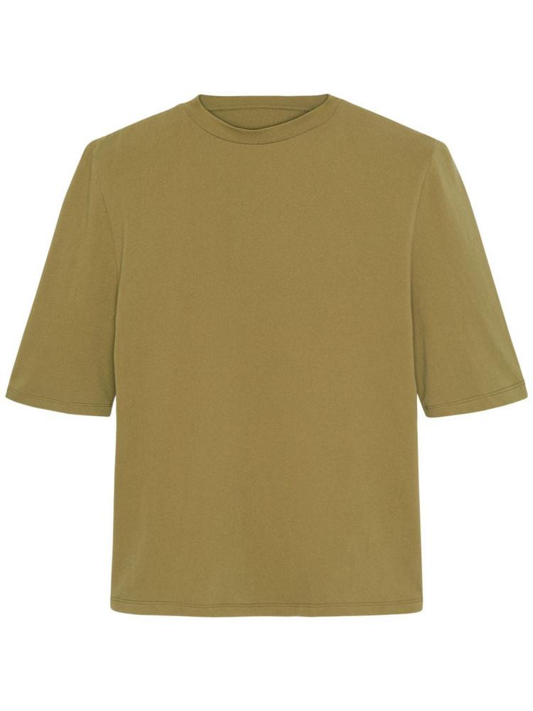 THE FRANKIE SHOP Carrington Organic Cotton T-shirt in green