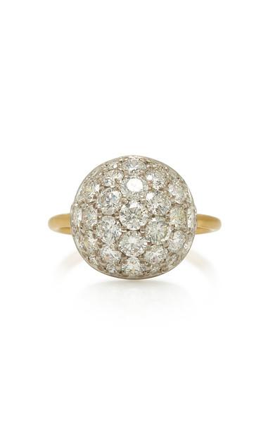 Irene Neuwirth 18K White Gold And Diamond Ring Size: 7