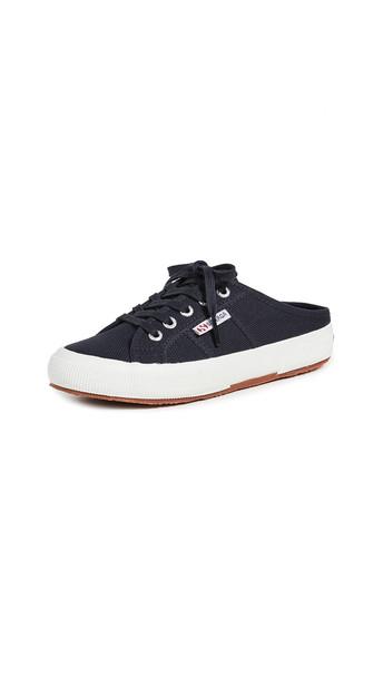 Superga 2551 Cotu Mule Sneakers in blue