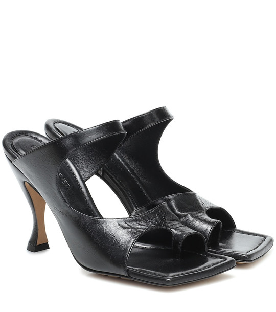 Bottega Veneta Leather sandals in black