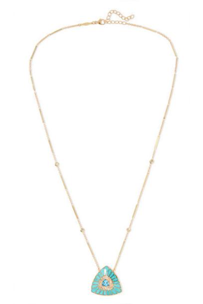 Jacquie Aiche - Vortex 14-karat Gold Multi-stone Necklace