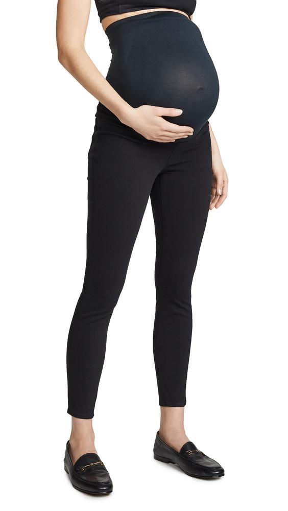 SPANX Mama Ankle Jean-ish Leggings in black