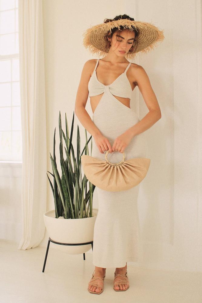 Cult Gaia Serita Dress - Off White                                                                                               $458.00