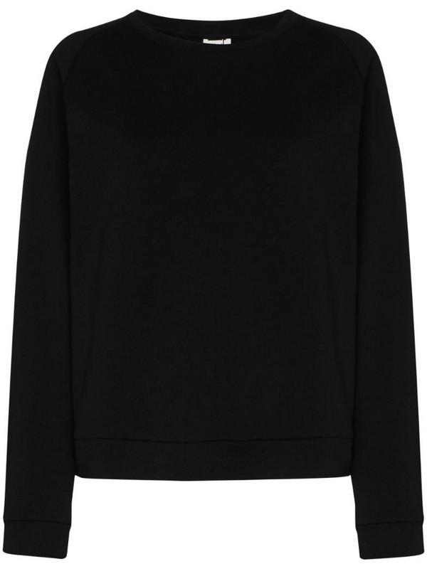 Baserange organic cotton sweatshirt in black