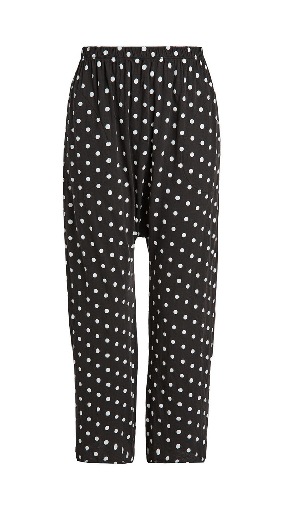 THE GREAT. THE GREAT. The Lounge Crop Pants in black