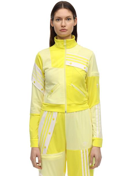 ADIDAS ORIGINALS Danielle Cathari Track Top in yellow