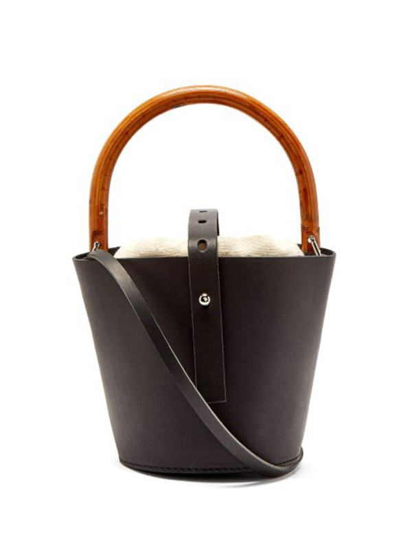 Muuñ Muuñ - Louise Bucket Bag - Womens - Cream Multi