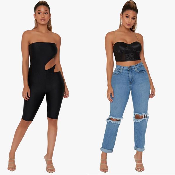 romper jeans top