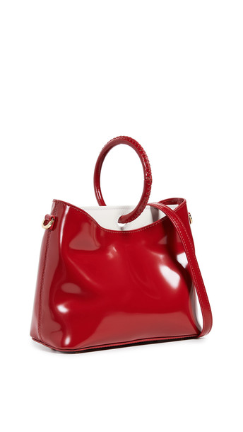 Elleme Simone Bag in red / white