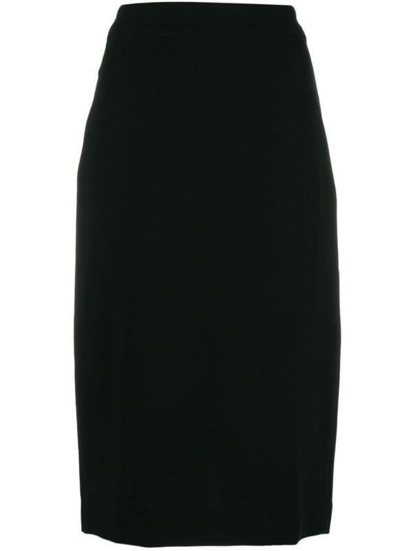 Derek Lam Sora pencil skirt in black