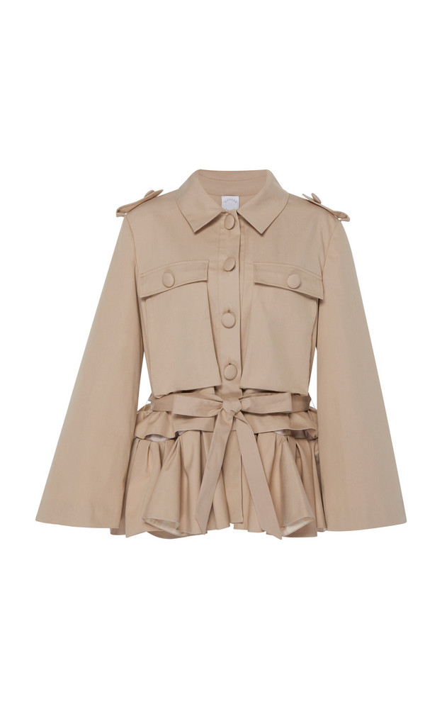 Huishan Zhang Gaby Jacket in brown