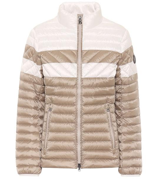 Bogner Cailind down ski jacket in beige