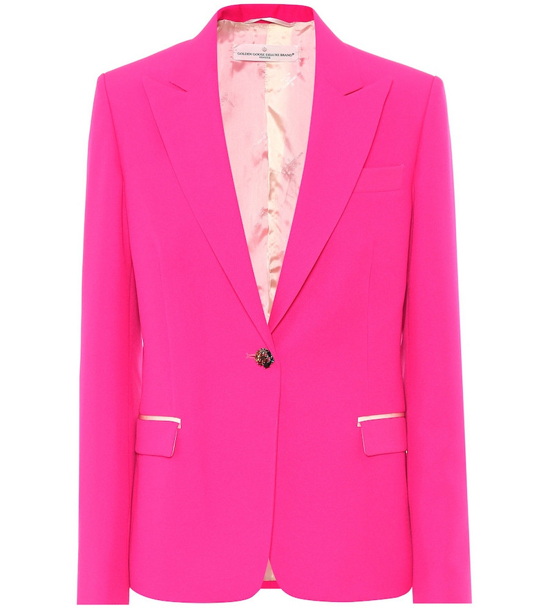 Golden Goose Venice blazer in pink