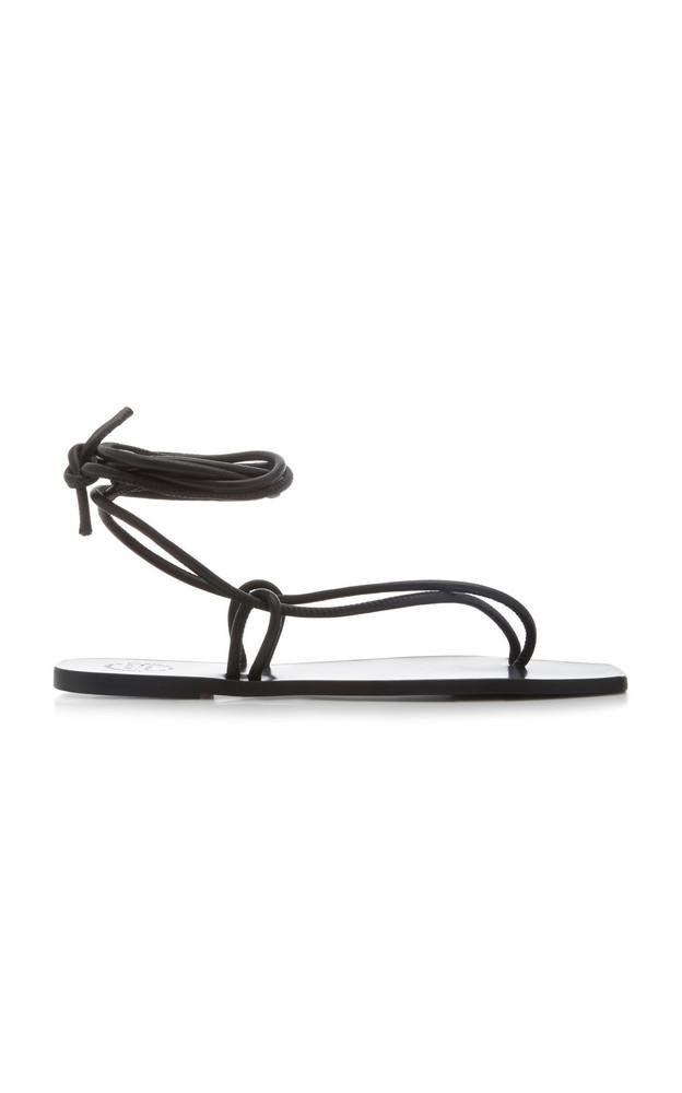 ATP Atelier Alezio Nappa Leather Sandals Size: 36 in black