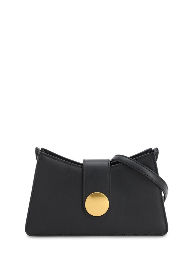 ELLEME Baguette Smooth Leather Bag in black