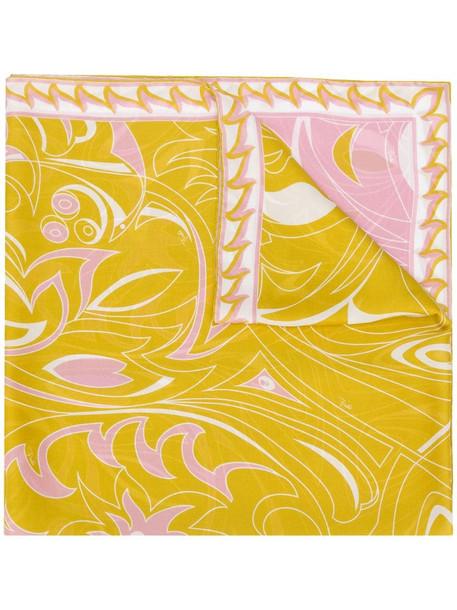 Emilio Pucci Dinamica Degradè print scarf in pink