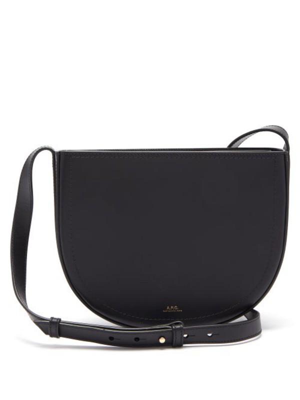 A.P.C. A.p.c. - Juliette Leather Cross Body Bag - Womens - Black