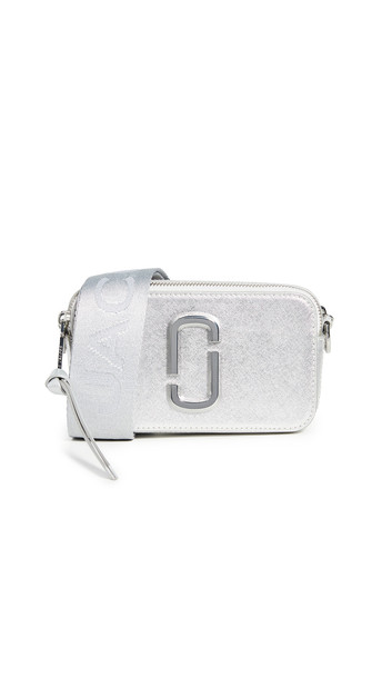 Marc Jacobs Snapshot DTM Camera Bag in silver