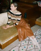 sweater,skirt