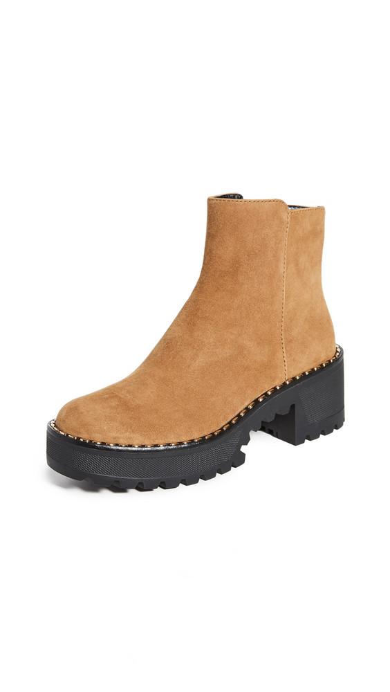 Stella Luna Metal Clou Boots in brown
