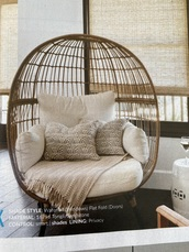 home accessory,wicker chair
