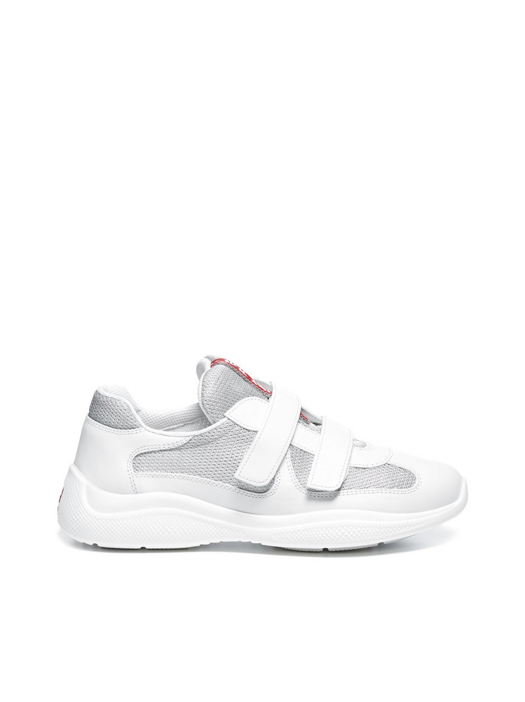 Prada Linea Rossa Sneakers in bianco
