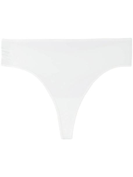 Marlies Dekkers 'Dame de Paris' ivory 7 cm thong in white
