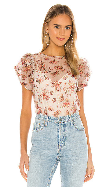 CAMI NYC The Louisa Blouse in Blush