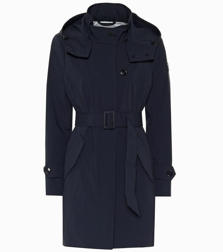 Woolrich Fayette trench coat in blue