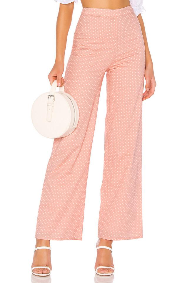 MAJORELLE Brandy Pants in peach