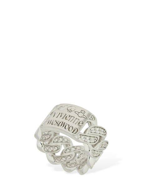VIVIENNE WESTWOOD Roy Ring in silver