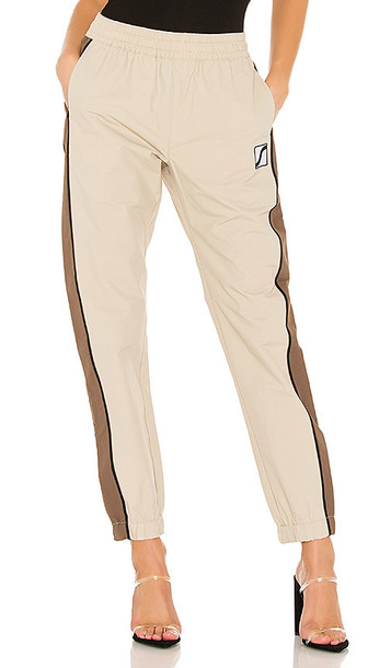 Stussy Autopark Contrast Pant in Brown