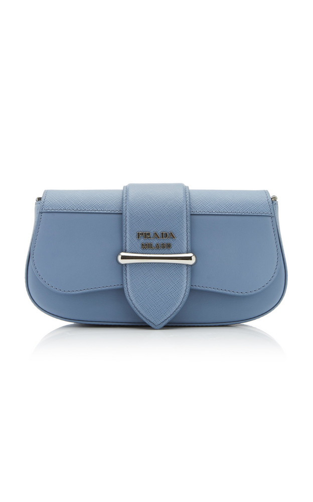 Prada Leather Sidonie Bag in blue