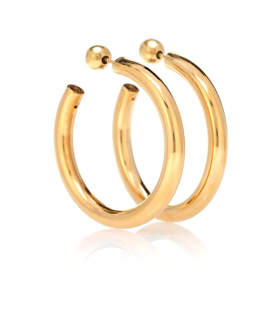 Sophie Buhai Medium Everyday Hoops 18kt gold vermeil earrings